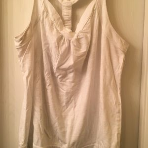 Maurices racerback tank top